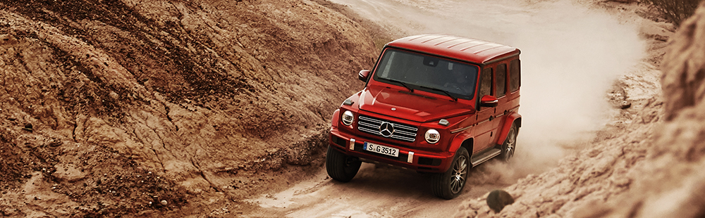 The Mercedes-Benz G-Class
