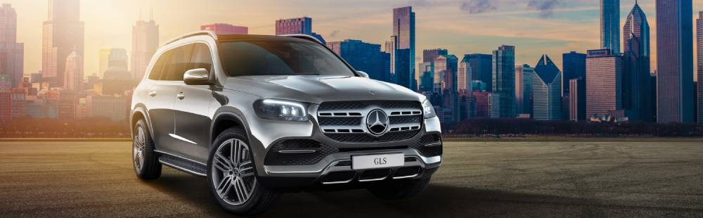 The all-new Mercedes-Benz GLS