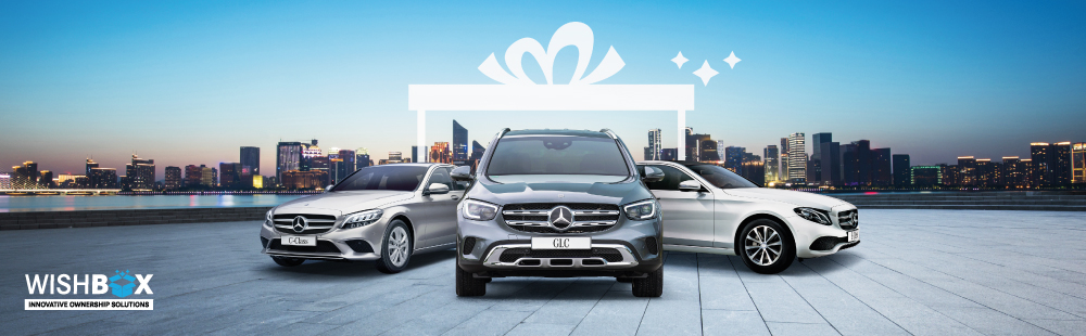 Drive home your dream Mercedes-Benz with Wishbox.
