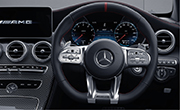 Mercedes c43 AMG - Performance Steering with Nappa Leather