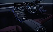 Mercedes c43 AMG - Aambient Lighting