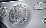 Mercedes c300 Cabriolet specs -Burmester Surround sound