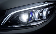 Mercedes c300 Cabriolet specs - Multibeam LED headlamps