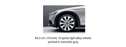 Alloy options for Mercedes E class All Terrain