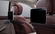 Mercedes S class features - Rear seat entertainment system
