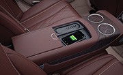 Mercedes S class features - Wireless charging for mobile phones