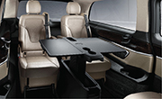 Mercedes Benz V class feature - Table package